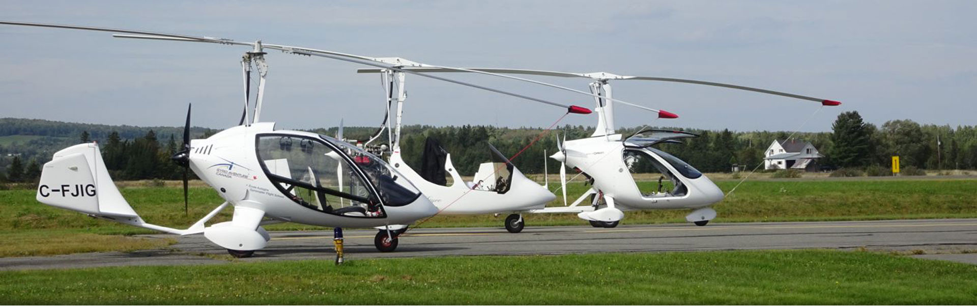 Trendak, DTA J-RO and Magni Gyro autogires  Gyrocopter for